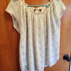 LC Lauren Conrad Women's Blouse Size Large